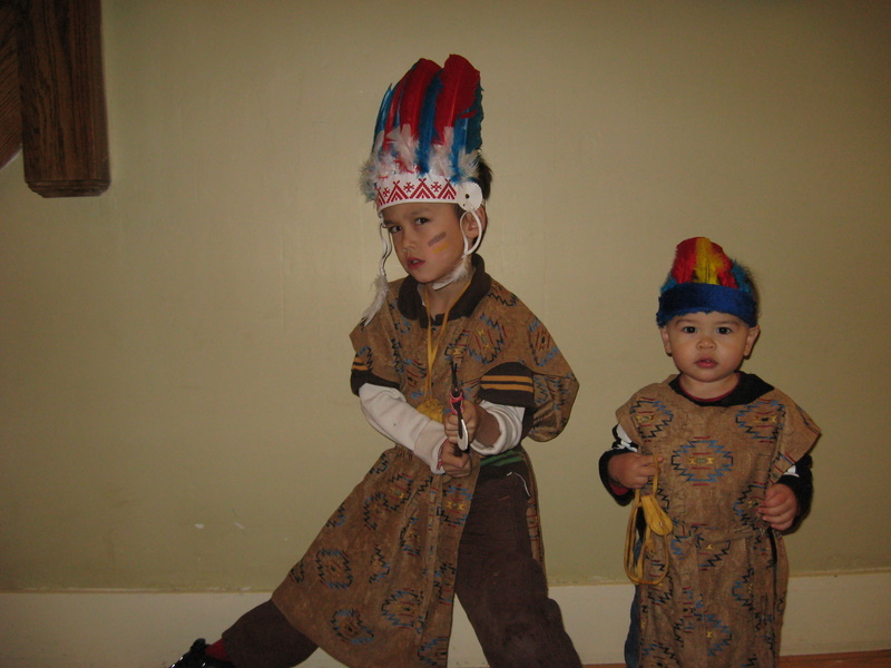 Miles and James Indians